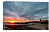 Wake up Cullercoats!, Canvas Print