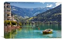 Zell am See, Canvas Print