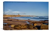 Tynemouth Long Sands, Canvas Print