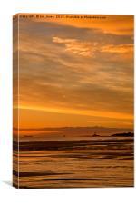 Northumbrian November Seascape, Canvas Print
