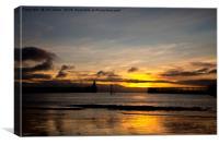 Northumbrian Sunrise, Canvas Print