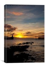 Northumbrian daybreak, Canvas Print
