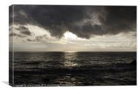 Stormy Sky, Canvas Print