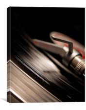 Vinyl, Canvas Print
