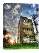 St.Leonards Tower, Canvas Print