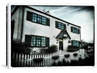 Pudding Cottage, Canvas Print