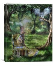 Home Sweet Home, Canvas Print