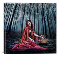 Red Riding Hood, Canvas Print