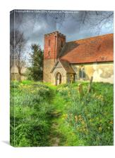 Spring at St.Marys, Canvas Print