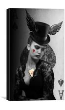 Poker Face, Canvas Print