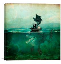 Marooned, Canvas Print