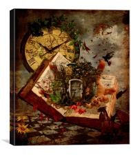 Story Time, Canvas Print