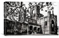 Striking Abbey, Canvas Print