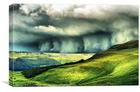 Wall of Cloud, Canvas Print