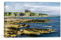 Mighty Tantallon Castle, Canvas Print