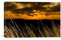 Fraisthorpe Sunset, Canvas Print