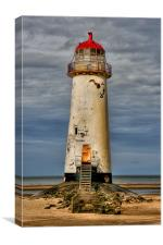 abandoned Lighthouse, Canvas Print