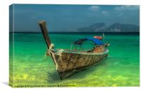 Longboat, Canvas Print