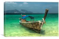 Thai Boat, Canvas Print