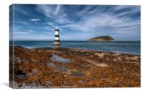 Black Point Lighthouse, Canvas Print