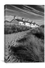Pilot cottages, Canvas Print