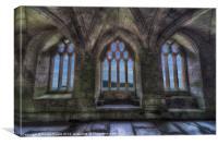 Abbey View, Canvas Print