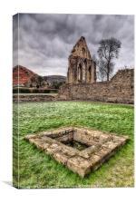 Abbey Well, Canvas Print