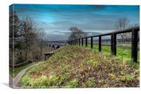 Welsh Aqueduct, Canvas Print