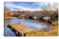 Padarn Bridge, Canvas Print