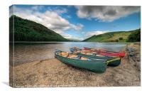 Welsh Lake, Canvas Print