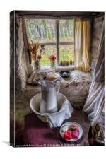 Victorian Wash Area, Canvas Print