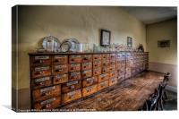 Medicine Cabinet, Canvas Print