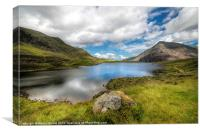 Idwal Lake Snowdonia, Canvas Print