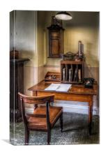 Victorian Office, Canvas Print