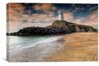 Lighthouse Beach, Canvas Print