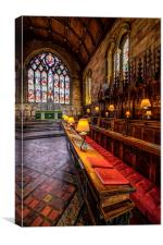 Cathedral Lamps, Canvas Print
