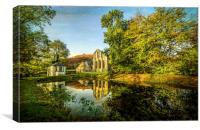 Abbey Pond, Canvas Print