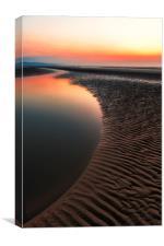 Seascape Sunset, Canvas Print