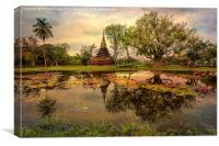 Sukhothai Historical Park, Canvas Print