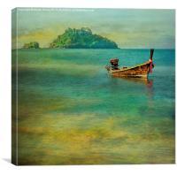 Dream Boat, Canvas Print