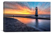 Lighthouse Sunset, Canvas Print