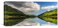 Geirionydd Lake, Canvas Print