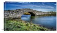 Aberffraw Bridge, Canvas Print