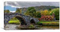 Autumn Cottage, Canvas Print