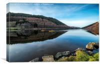 Geirionydd Lake, Canvas Print