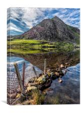 Tryfan Reflections, Canvas Print