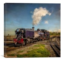 Garratt No. 87 Loco, Canvas Print
