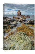 Gwenfaens Rock, Canvas Print