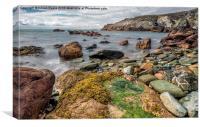 Ocean Stones, Canvas Print