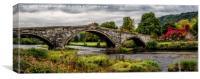 Llanrwst Bridge, Canvas Print